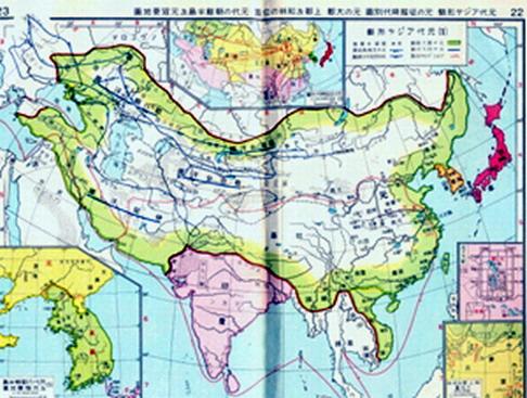窝阔台汗国,统治额尔齐斯河上游和巴尔喀什湖以东